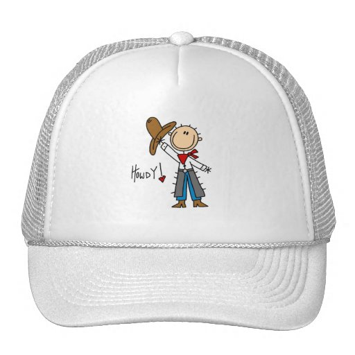 Cowboy Howdy T-shirts and Gifts Trucker Hat