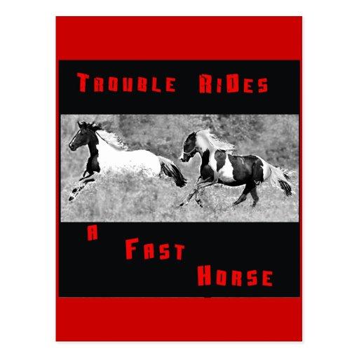 Cowboy Humor Postcard #1