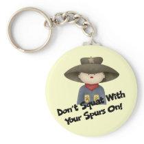 Cowboy II Keychain