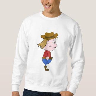 Cowboy illustration. sweatshirt