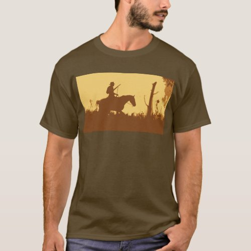 Cowboy in the Forest T_Shirt