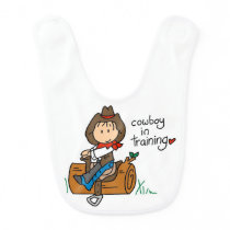 Cowboy in Training Bib
