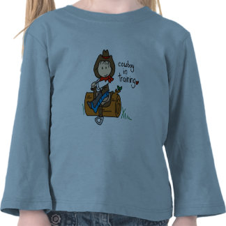 Cowboy in Training Tshirts and Gifts