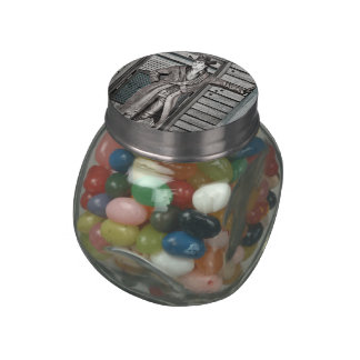 Cowboy Jelly Belly Candy Jars