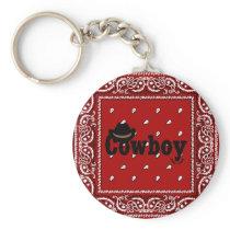Cowboy Keychain