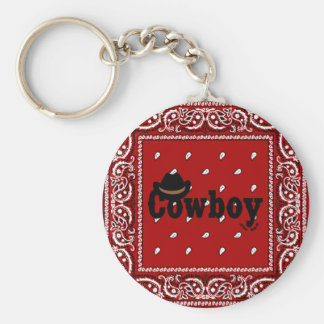 Cowboy Key Chains