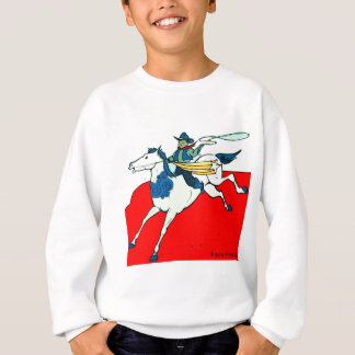 Cowboy  Kid  by Katie Pfeiffer Sweatshirt