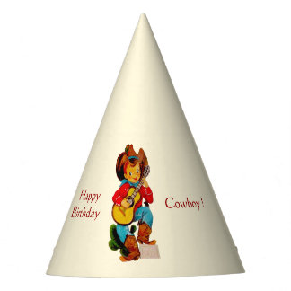 Cowboy Kid Party Party Hat