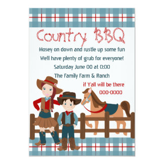 Cowboy Kids Card