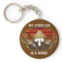 Cowboy Kilroy Keychain