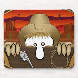 Cowboy Kilroy Mousepad