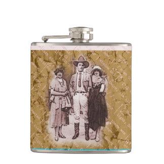Cowboy Ladies Man Flask