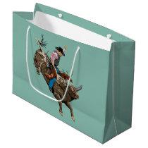 Cowboy Large Gift Bag