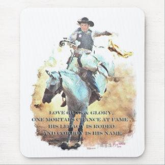 cowboy legacy mouse pad