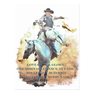 cowboy legacy postcard