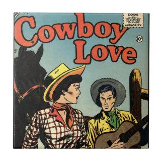 Cowboy Love Tile