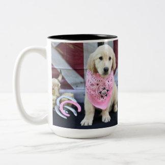 Cowboy Lucy Two-Tone Coffee Mug
