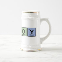 Cowboy made of Elements Beer Stein