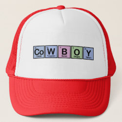 Trucker Hat with Cowboy design