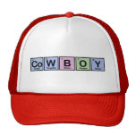 Cowboy made of Elements Trucker Hat