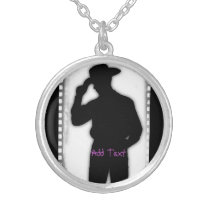 Cowboy Magic Silver Plated Necklace