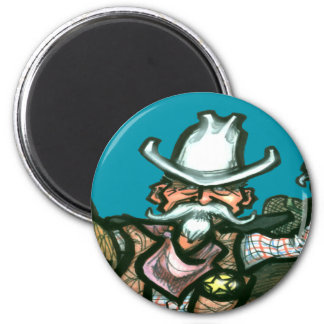 Cowboy Fridge Magnet