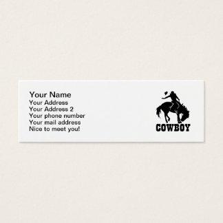 Cowboy Mini Business Card