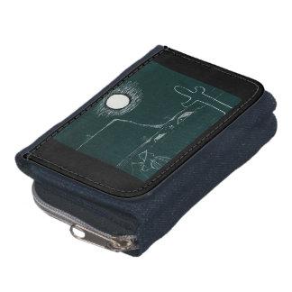 Cowboy moon wallet