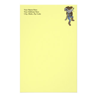 Cowboy Mouse Personalized Stationery