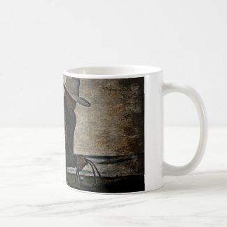 Cowboy Classic White Coffee Mug
