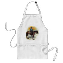 Cowboy n Sunset Adult Apron