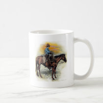 Cowboy n Sunset Coffee Mug