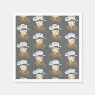 Cowboy napkins
