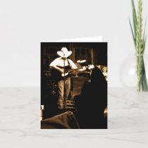 Cowboy Note Card