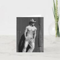 Cowboy Notecard #2