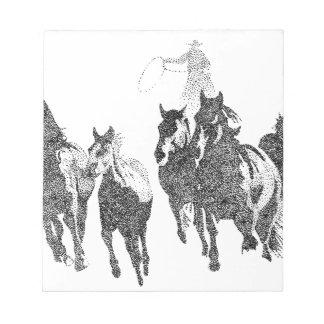 Cowboy Notepad