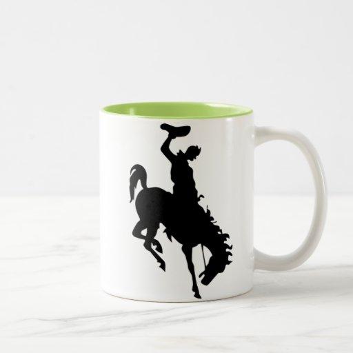 Cowboy on Bronco / Bronc; Cool Mug