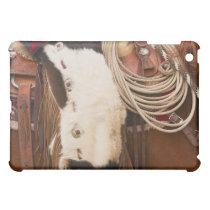 Cowboy on horse 2 cover for the iPad mini