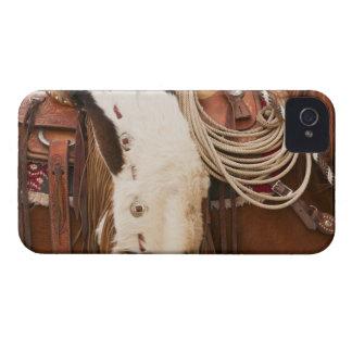 Cowboy on horse 2 iPhone 4 case