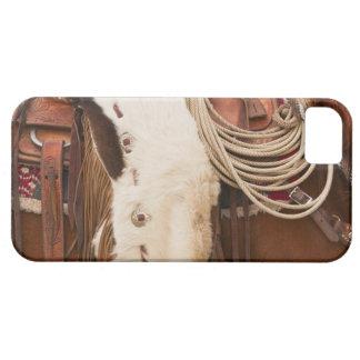 Cowboy on horse 2 iPhone SE/5/5s case