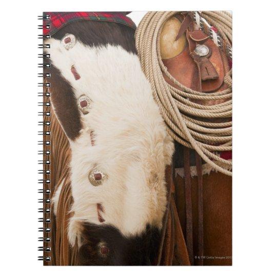 Cowboy on horse 2 notebook