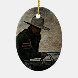Cowboy Christmas Ornament