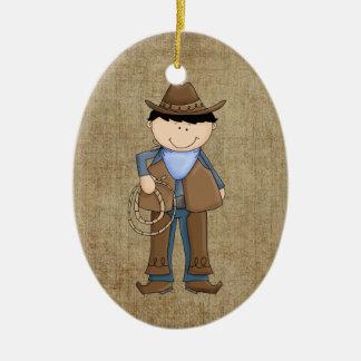Cowboy Christmas Tree Ornament