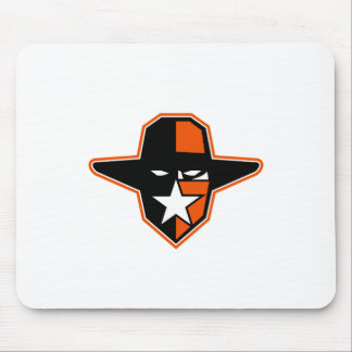 Cowboy Outlaw Star Icon Mouse Pad