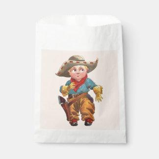 Cowboy Party Favor Bag
