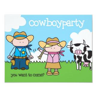 Cowboy Party - Invitation