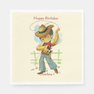 Cowboy Party Paper Napkin