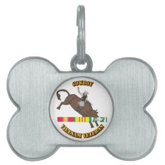 Cowboy Pet Tag