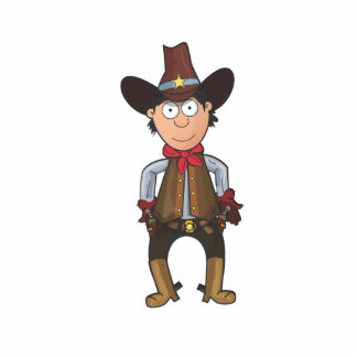 Cowboy Photo Cut Out