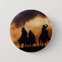 Cowboy Pin or Badge